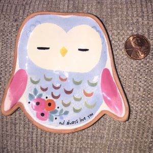 Owl Always Love You Ceramic Dish